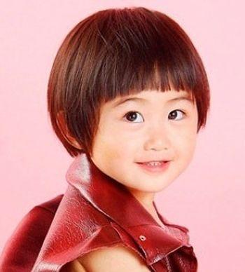 小孩沙宣发型 可爱的沙宣发型图片