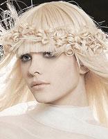 白发染发非主流发型图片 长发女孩非主流发型图片图片