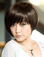 女士沙宣短发发型图片 斜刘海沙宣短发发型设计