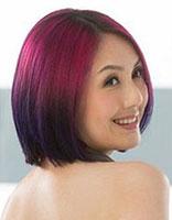 中分短发染什么渐变色好看 短发渐变色发型图片