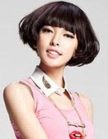 女生沙宣纹理烫效果图 沙宣纹理烫烫发发型设计