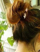 16岁学生盘发发型设计 适合学生的盘发步骤图解