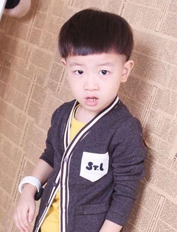 六岁小男孩发型设计 适合六岁小男生的发型图片[儿童发型]-儿童发型设