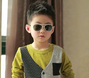 适合小男孩的短发发型 小男孩帅气发型图片大全图片
