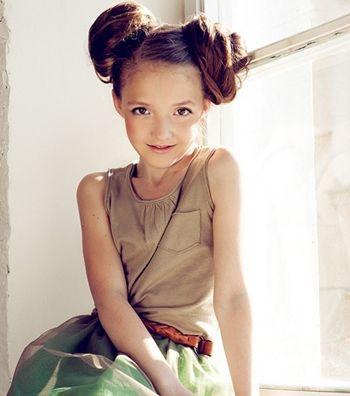 儿童头发扎马尾怎么编发 儿童马尾辫编发教程图解[长发扎发]-儿童发型