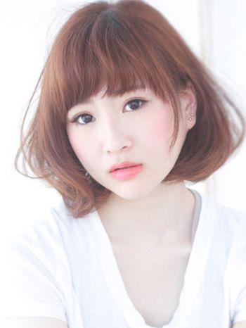 脸大头大的女生适合什么短发发型图片