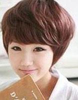 女士发型波波发型纹理烫 女生纹理烫波波短发