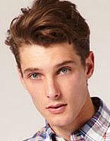 欧美卷发短发男飞机头 国外男生卷发飞机头发型图片