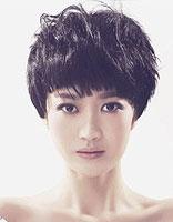 短发纹理烫发型