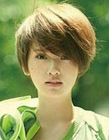 时下最热最流行的几款短发烫发发型(2)