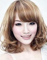 梨花烫发型配心型脸 心形脸女生梨花头发型