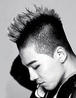 男生长发发型图片 男士长火箭头发型