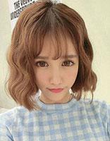 长方脸头发厚适合的短发发型图片 长脸女生最新短发发