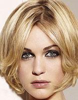 脸长剪短发什么发型好看 脸长无白头发短的女生发型