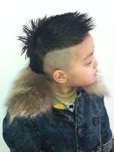 小孩子发型_小男孩发型设计_小女孩发型图片_小孩子短图片