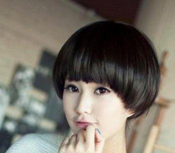 最流行圆脸短发发型 圆脸超短发发型图片图片