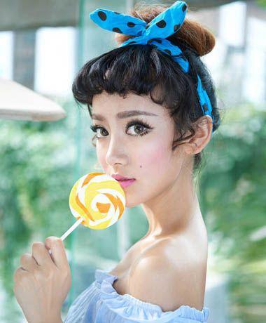 七夕女生约会必备发型 做最俏丽时尚的人间仙女