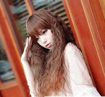长发螺旋发型 小螺旋长发发型图片