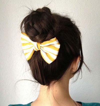 头发少怎么扎可爱发型 女高中生活泼可爱发型扎法