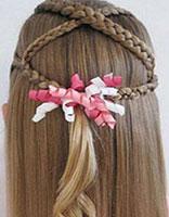 2015夏季流行编发发型 小女孩编发发型方法
