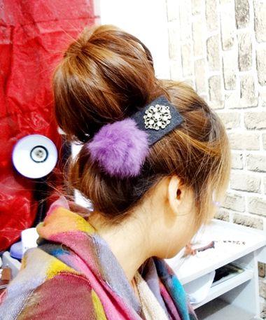 怎样盘头发简单好看 长发盘发用的工具