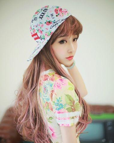 斜刘海必须烫吗 斜刘海烫发发型图片