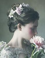 韩式秋季新娘盘发发型 韩式新娘盘发发型