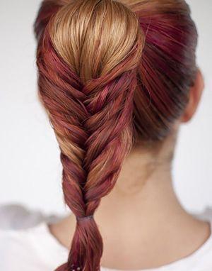 怎样编四股马尾辫 如何编好看的马尾辫发型