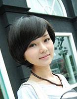 女学生斜刘海发型 斜刘海发型图片