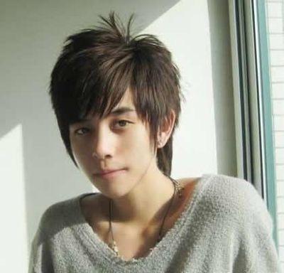 初中生刘海发型图片 初中男生发型