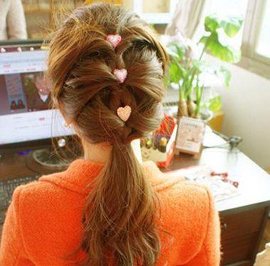 简单发型扎法图片