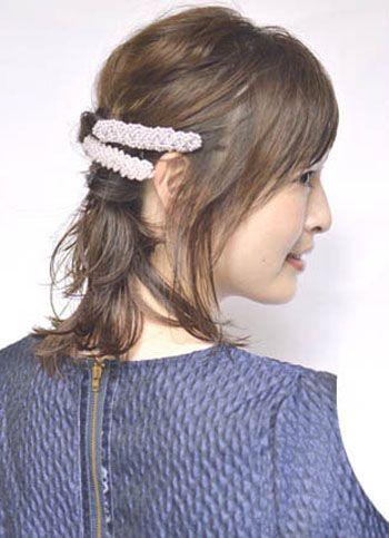 短发发型扎法_中短发发型扎法图解_最新韩式短发发型图片