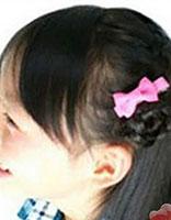 13岁儿童盘发发型扎法 儿童流行盘发发型扎法