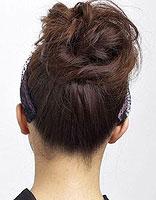 怎样绑没有刘海的发型 没有刘海的中长发发型扎法