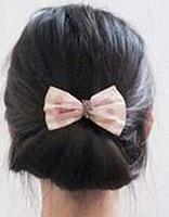 自己如何盘简单的发型 自己就可以盘的简单发型图解