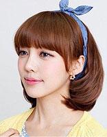 怎么烫韩式斜刘海发型 烫韩式斜刘海发型图片