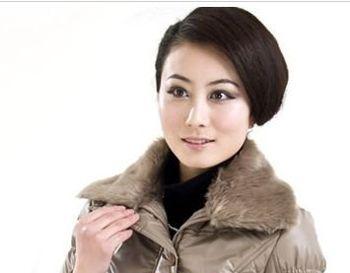 头大头发少的人适合什么发型不要烫发 中老年不烫发发型设计图片