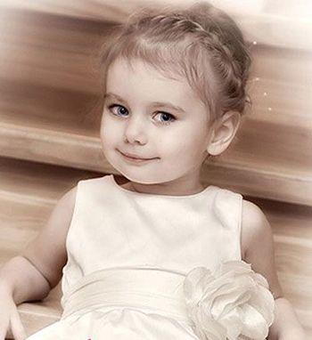 怎么帮宝宝编头发 两岁宝宝编头发发型图片