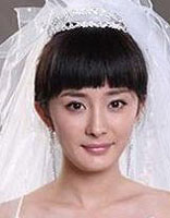齐刘海适合什么样的新娘发型 新娘齐刘海发型照片