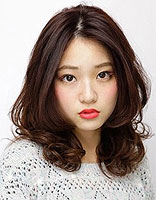 头发烫梨花卷是怎样的 现在流行的小卷冷烫梨花烫图片