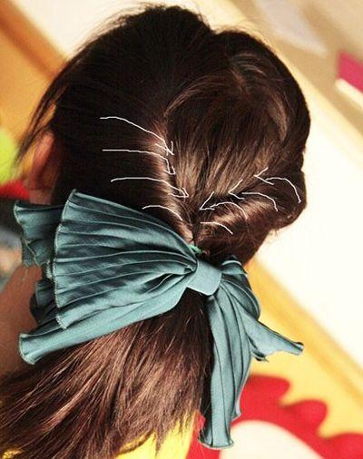 小女孩在家如何盘发既漂亮又简单 9岁小女孩简单盘发图解