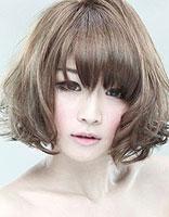 女生的各种梨花烫 漂亮的梨花烫发型图片