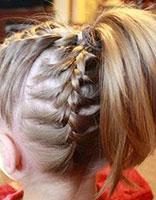 小女孩短头发怎么编好看步骤 给小孩编制漂亮头发