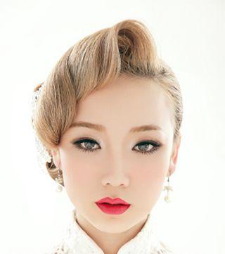 典雅欧式复古风新娘发型