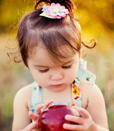 儿童短发扎辫子发型图片