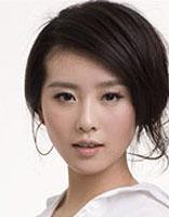 刘诗诗发型中分斜发侧分刘海怎样扎 好看的发型扎发