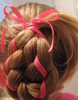 儿童盘头发型步骤 儿童盘发发型扎法过程