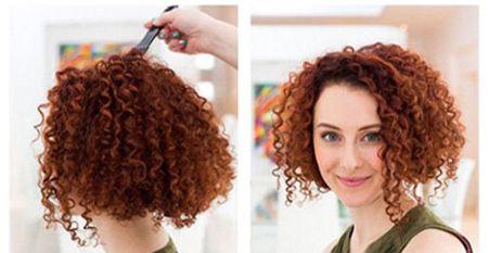 烫小卷后怎么扎头发 烫头发小卷扎发方法图片