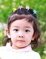 幼儿园儿童中短发发型扎法 小女孩儿童扎发发型