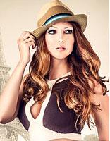 螺丝烫发型戴帽子好看吗 螺丝卷烫发发适合的帽子